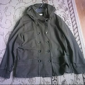 Coldwater creek pea coat. Size xl petite